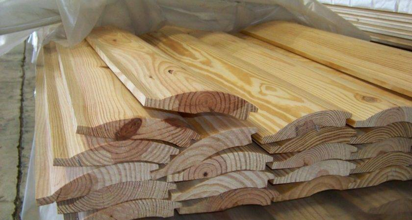 Log Siding Yellow Pine Home Look