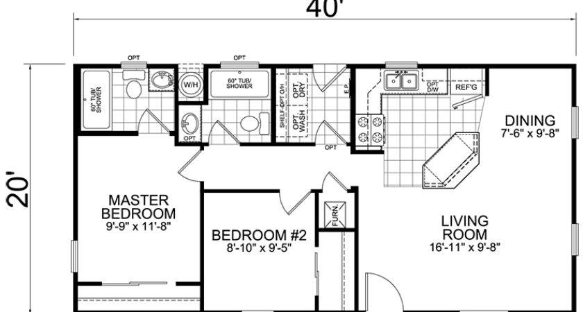 Looking Comfortable House Trailer Floor Plans