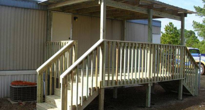 Looking Mobile Home Porch Ideas Bestofhouse