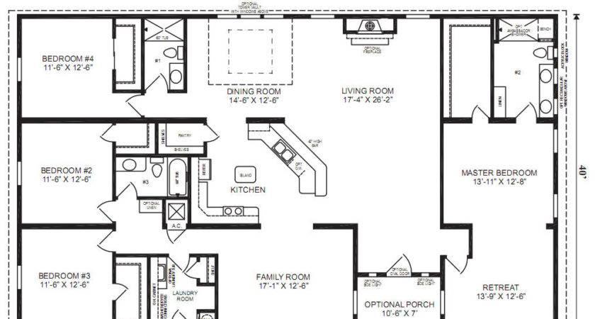 Lovely Prefabricated Homes Floor Plans Oak Hill