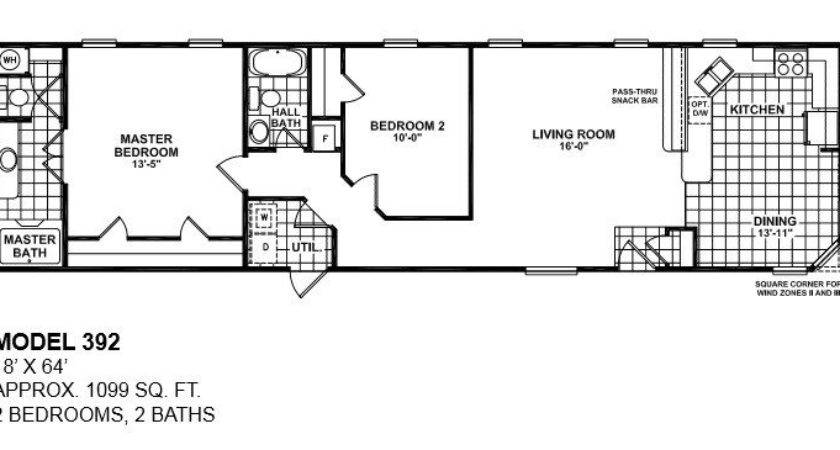 Lovely Single Wide Mobile Home Floor Plans Bedroom New