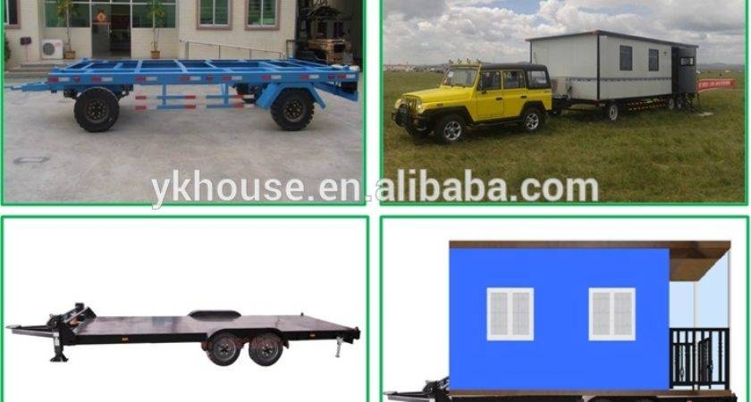 Low Cost Mobile House Small Home Trailers Sale
