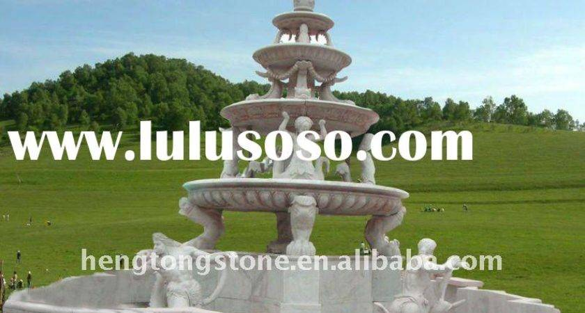Lulusoso Large Outdoor Water Fountain