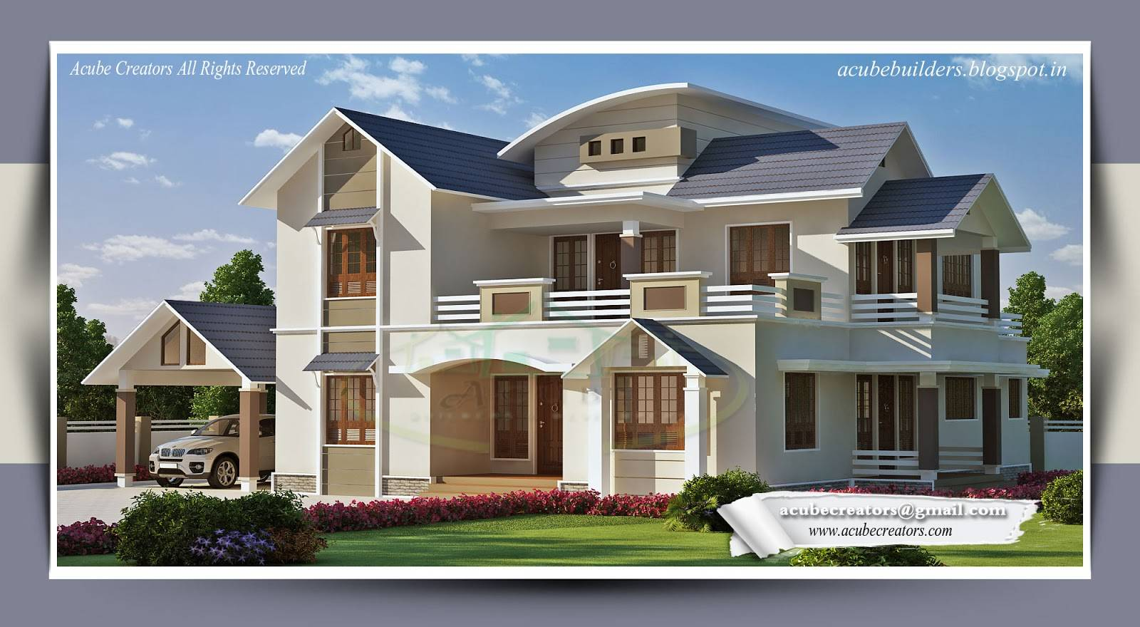 Luxurious Bungalow House Plans