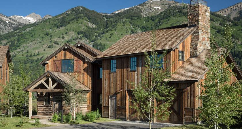 Luxury Cabin Vacation Rental Teton Village Four