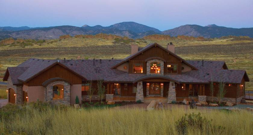 Luxury House Plans Mountain Home Rustic More