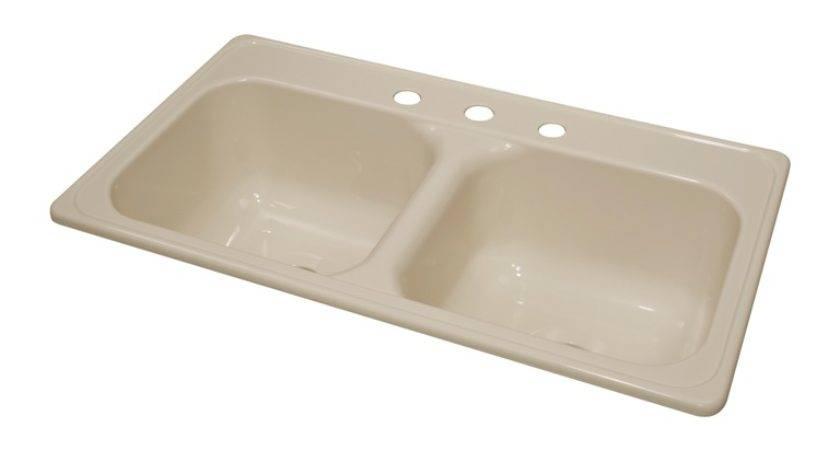 Lyons Dksj Mobile Home Acrylic Kitchen Sink Holes
