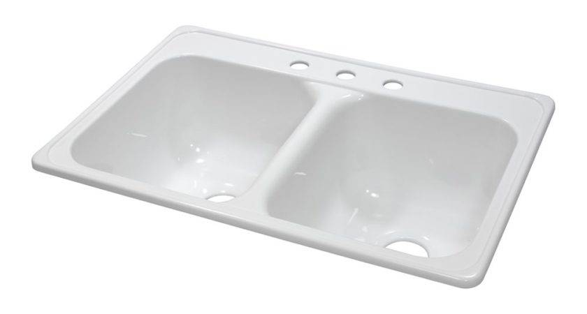 Lyons Industries Dks Deluxe Dual Basin Acrylic Kitchen