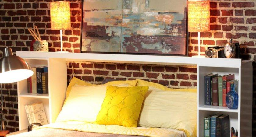 Make Headboard Out Storage Crates Tos Diy