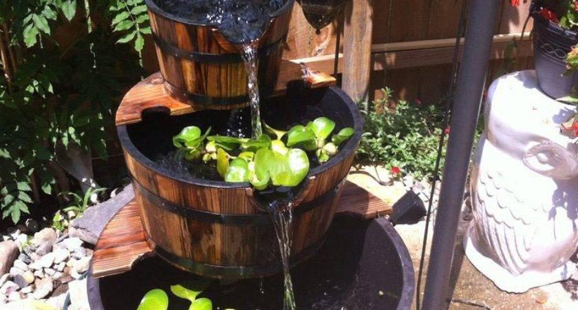 Make Outdoor Water Fountain Design Ideas