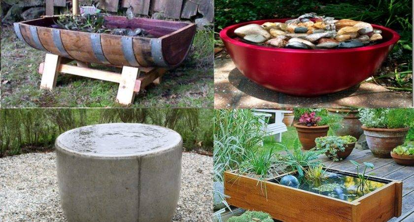 Make Water Fountain Diy Try Pinterest