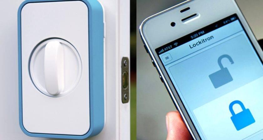 Make Your Home Smarter Lockitron Keyless Using