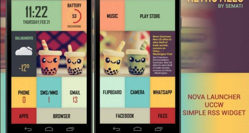 Make Your Own Uniquely Gorgeous Android Home Screen