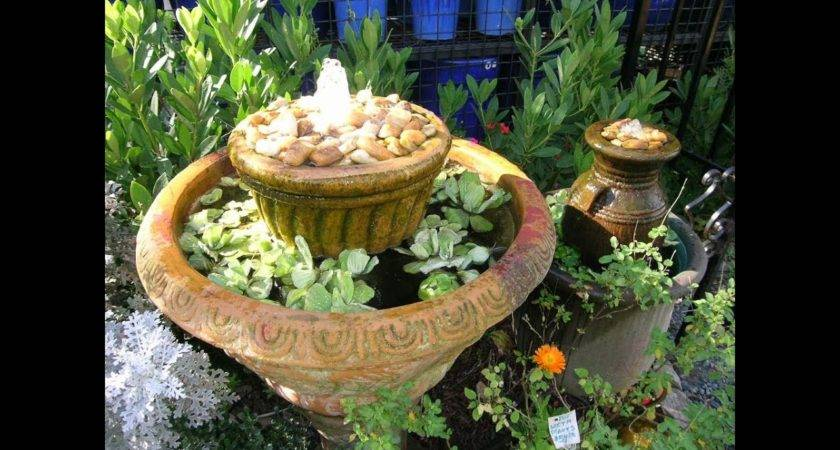 Make Your Own Water Feature Mas Style Youtube