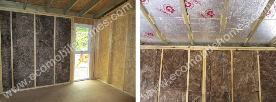 Management Package Fitting Insulation Walls Ceiling