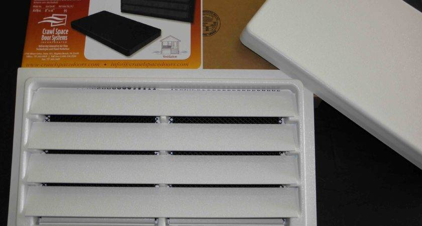 Manual Foundation Air Vent Removable Cover Comes Black