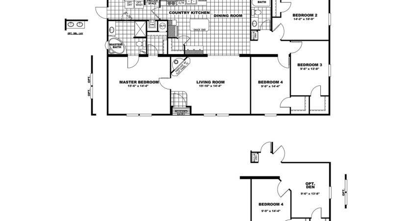Manufactured Home Floor Plan Clayton Cowboy House