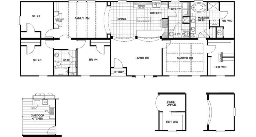 Manufactured Home Floor Plan Clayton Cypress House
