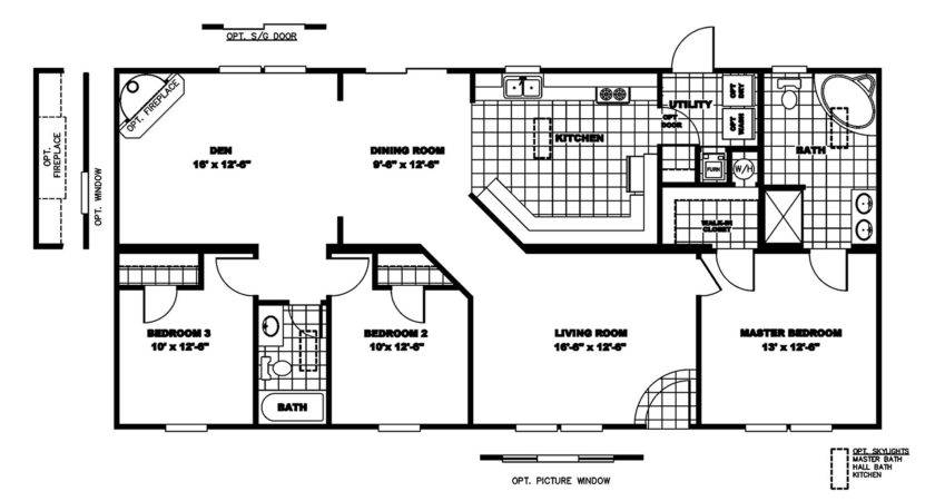 Manufactured Home Floor Plan Clayton Discontinued