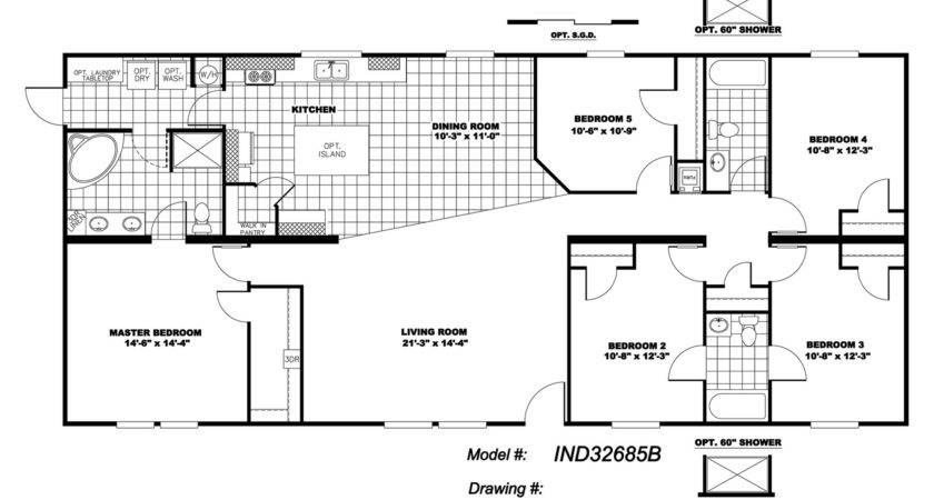 Manufactured Home Floor Plan Clayton Independence Bedroom