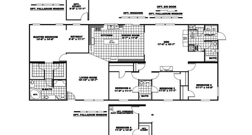 Manufactured Home Floor Plan Clayton Lakeshore Lak