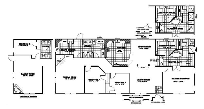 Manufactured Home Floor Plan Clayton Lakeview
