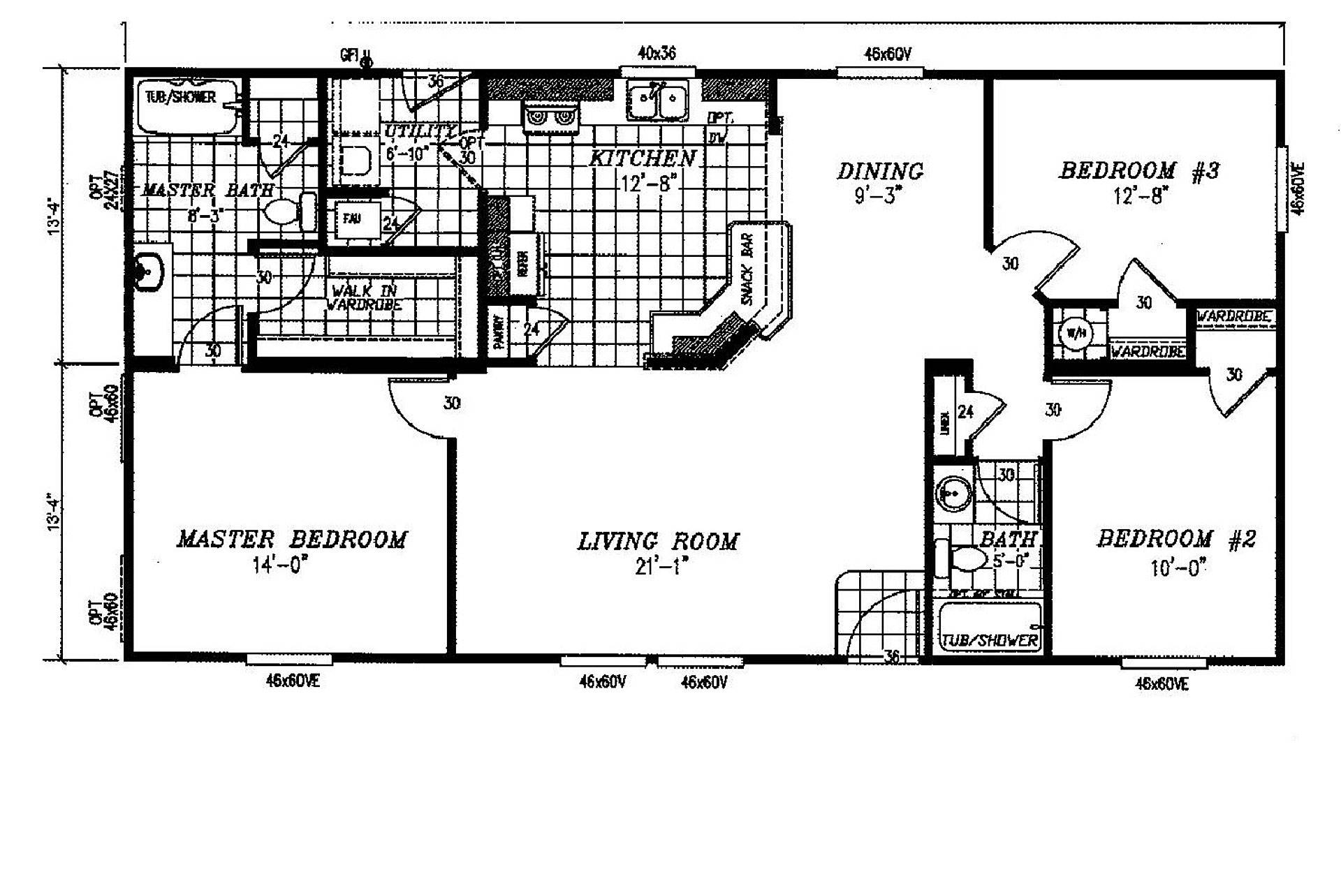 Manufactured Home Floor Plan Clayton Lone Star