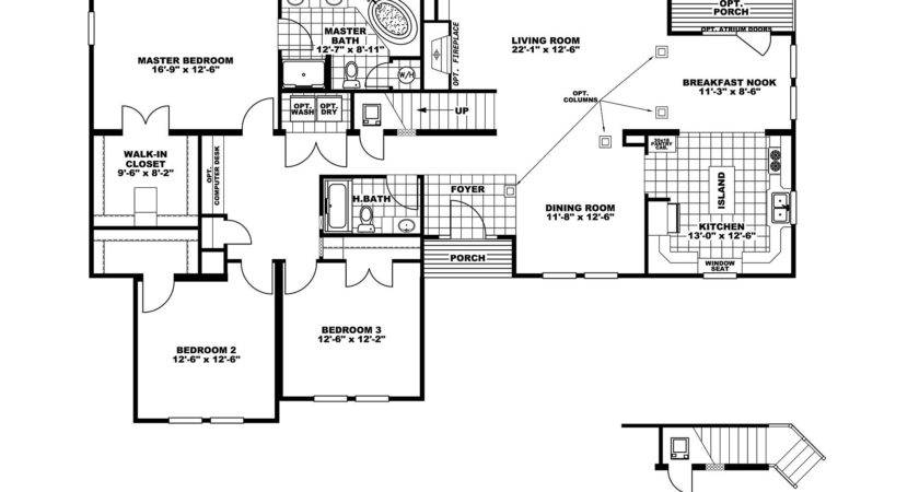 Manufactured Home Floor Plan Clayton Norris Leconte