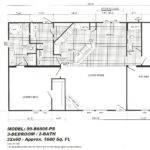 Manufactured Home Floor Plan Clayton Number Cavalier