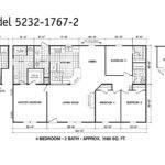 Manufactured Home Floor Plan Clayton Oakwood Platinum