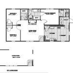 Manufactured Home Floor Plan Clayton River Run