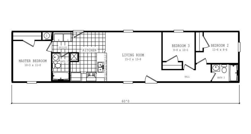 Manufactured Home Floor Plan Clayton Spirit Express