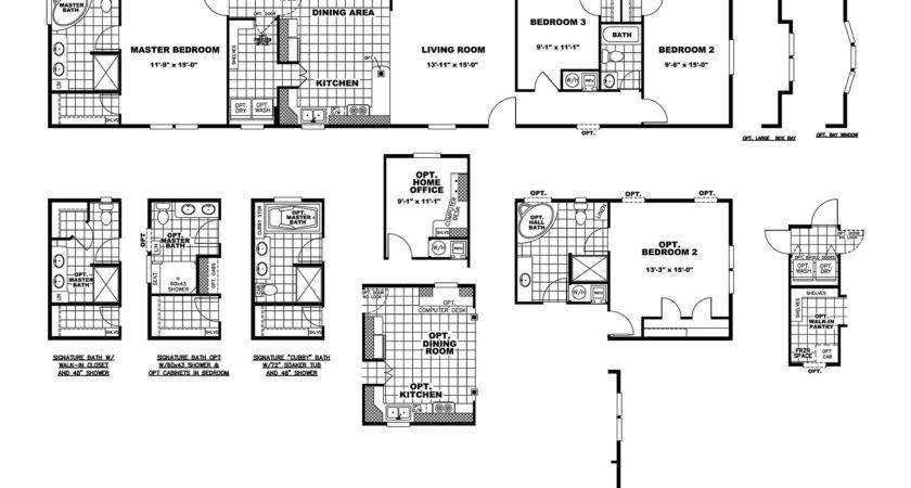 Manufactured Home Floor Plan Clayton Sycamore
