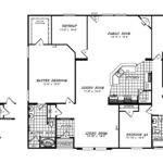 Manufactured Home Floor Plan Clayton Triple Wide