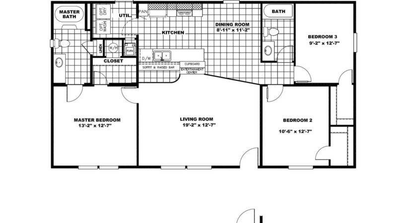 Manufactured Home Floor Plan Clayton Value