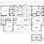 Manufactured Home Floor Plan Schult Chantilly Bui