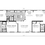 Manufactured Home Floor Plan Schult Classic Cla