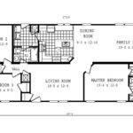 Manufactured Home Floor Plan Schult Entertainer