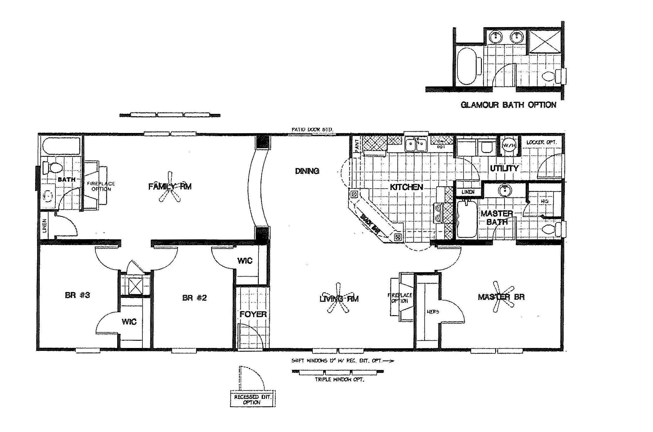 Manufactured Home Floor Plan Schult Perfecta Gms