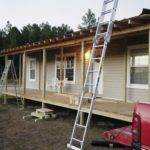 Manufactured Home Porch Idea