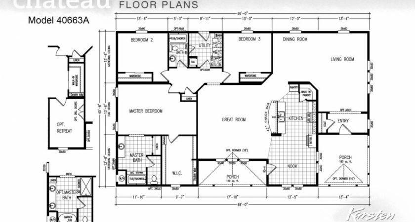 Manufactured Homes Bedroom Floor Plans