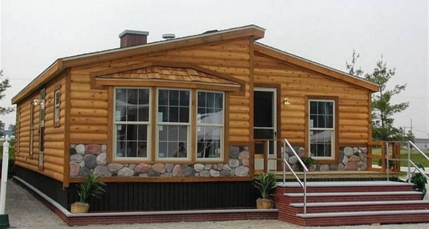 Manufactured Homes Log Cabin Style Oregon Bestofhouse