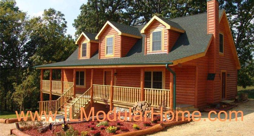 Manufactured Log Homes