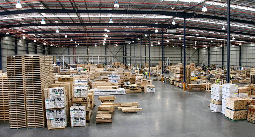 Manufacturing Warehouse Timber Manufacturer Wooden Pallets Cases