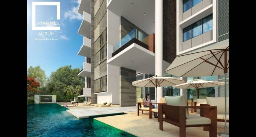 Marvel Aurum Luxury Homes Koregaon Park Pune