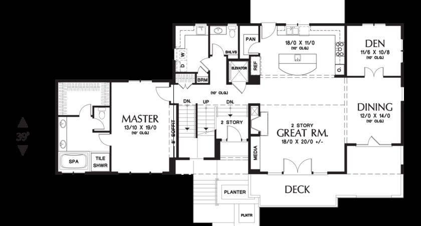 Mascord House Plan Burbank