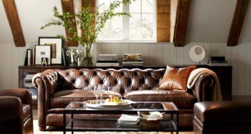 Masculine Living Room Pinterest
