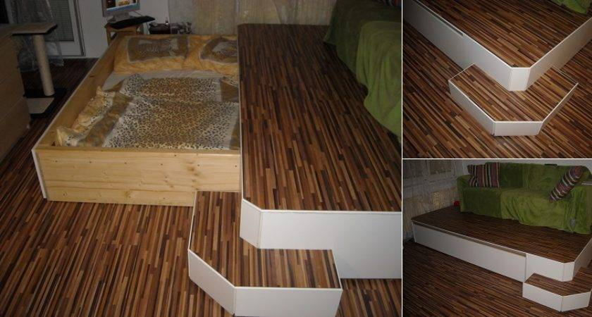 Mask Bed Small Spaces Diy Icreatived