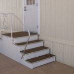 Metal Stairs Mobile Homes Ideas