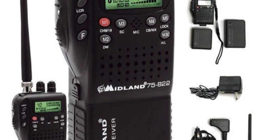 Midland Handheld Portable Mobile Radio Hybrid